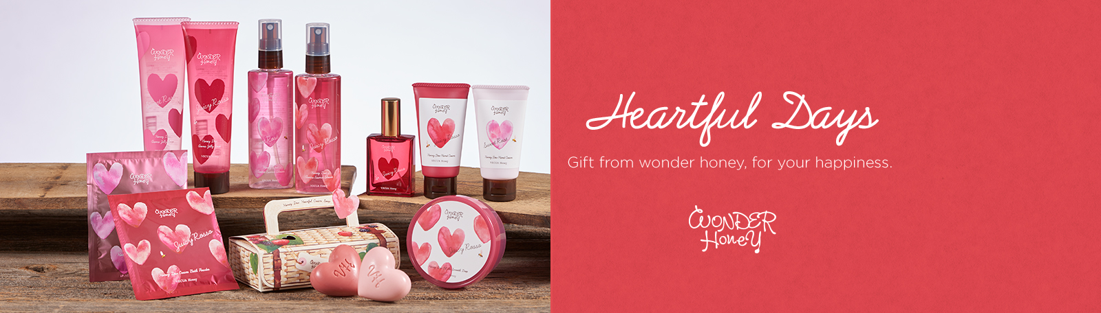 Heartful Days Gift from wonder honey, for your happiness. - WONDER Honey
