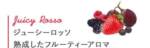 Juicy Rosso ジューシーロッソ - 熟成したフルーティーアロマ
