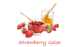 Strawberry Gelee