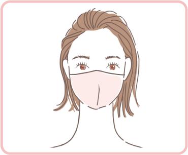 マスク下のお手入れとして