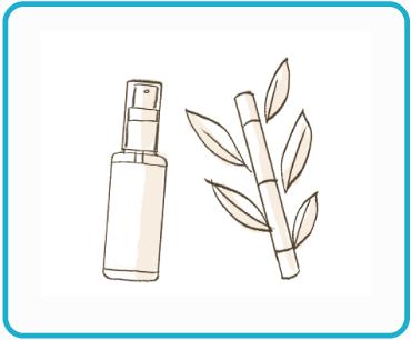 肌が敏感な方にもオススメ。植物性アルコール使用。